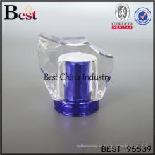 nuevo diseño decorativo azul surlyn tapa de tapa de perfume