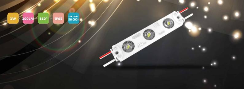 Aluminum lens led module