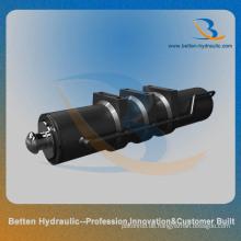 Einwirkender Ausleger-Hydraulikzylinder