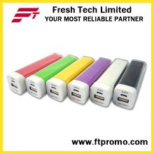 Hotsell Plastic Lipstick banco de energia colorida (C004)
