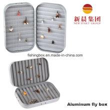 Solid Foam Insert Aluminum Fly Box