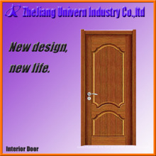 Puerta de madera sólida de superficie lisa Yf-S04
