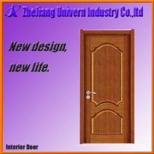 Porta de madeira maciça de superfície lisa Yf-S04