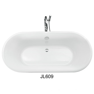 Top Selling Oval Acrylic Build in Tub (JL609)