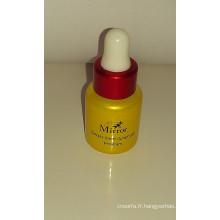 Verre coloré mini flacon pour parfum et soins personnels d'emballage