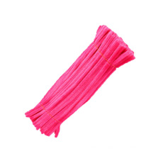 Wholesale children DIY toy 30cm*9mm colorful Pipe Cleaner craft chenille stem For Kids
