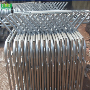 Galvanized Temporary Road Safety Crowd Control Barrier