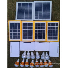 Solar Electricity LED Lighting Light Lamp System