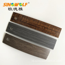 ABS Woodgrain Edge Banding Strip untuk Furniture Board