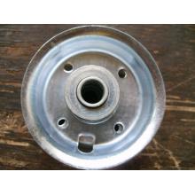 Borde de goma de la rueda 6 * 2, piezas de la rueda, borde de acero
