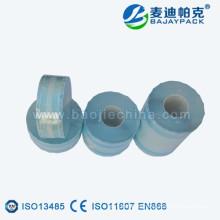 Esterilización de dispositivo médico Gusseted Roll Pouch para autoclave