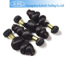 Pas cher KBL 100% extension de cheveux dropshipping, vague de cheveux humains des Caraïbes vague, extension de cheveux de trame liée à la main pas cher