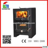 economic wood burning cold rolled steel stove WM203
