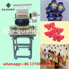 Domestic single head high speed embroidery machine for cap with ISO,SGS