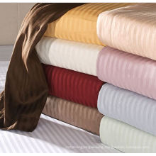 100% Cotton Sateen Ultra-Soft Striped Sheets - 4 Sizes