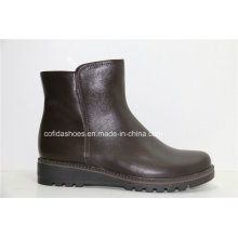 16fw New Comfort Casual Women Leather Boots