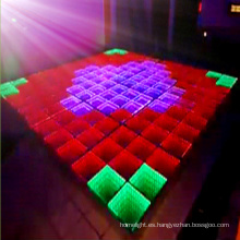 Nuevo video e Ineteractive LED Dance Floor Panel Light para Disco y Night Club