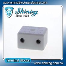 TC-152-A Haute température 600V 15A Connecteur de borne en céramique 2 broches