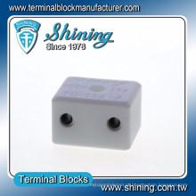 TC-152-A Conector de terminais de cerâmica de 2 pinos 600V de alta temperatura 600V