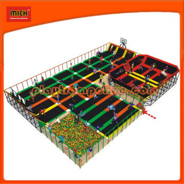 High Jump Trampoline Pad with Safety Net