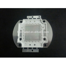 100w uv led de alta potencia uv led 365-370nm 395-400nm 405-410nm