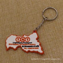 Cadeaux promotionnels Chaîne principale TNT personnalisée en PVC souple et bon marché