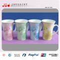 V Shape Porcelain Mug with Handle