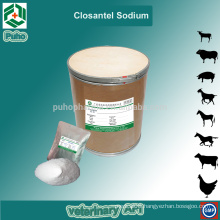 Online pharmacy supply veterinary Closantel Sodium powder for cattle and sheep