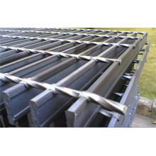 Grating galvanizado Hot-Dip da barra de aço do assoalho