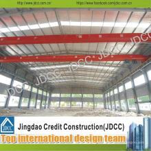 Bâtiments d'usine légère de structure en acier galvanisée