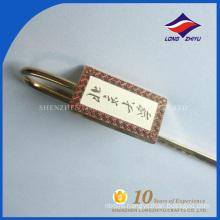 Guaranteed quality custom made metal brass bookmark