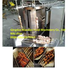 Eléctrica o gas automática Grill Machine / barbacoa Grill máquina