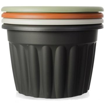 Round Shape Nursery Garden Flower Pot Plastic Mould