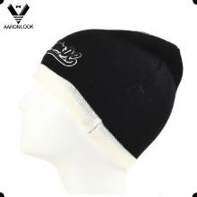 Men′s Fashion 3D Embroidery Winter Cap