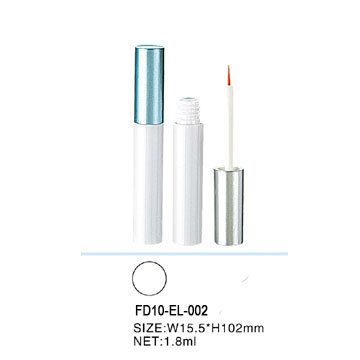 Hot selling low volume plastic eyeliner tube