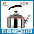 Chaleira de chá árabe de aço inoxidável 1L-4L, bule por atacado, chaleira de cozimento industrial