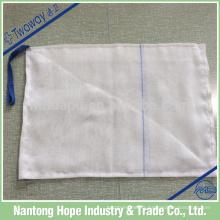 Éponge Lap de gaze de coton absorbante non lavée