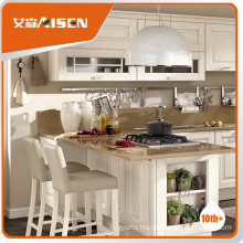 Long lifetime maple driftwood french country kitchen cabinets