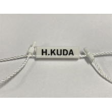 Tags de jóias personalizadas de plástico