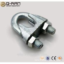 Ajustable U perno abrazadera Din 741 cable clips alambre cuerda de sujeción 3mm - 40mm