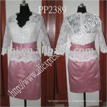 2011 vestido de noche rebordeado hombro atractivo de la fabricación de la gota de la alta calidad PP2390