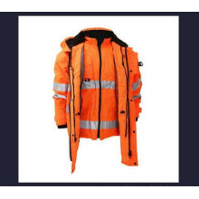 7-in-1 Reflective Jacket with Oxford Waterproof, Factory in Ningbo, China