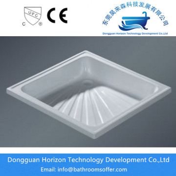 Standard size 48 inch shower tray