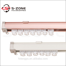 Fil de rideau flexible en aluminium antirouille en électrophorèse de haute qualité