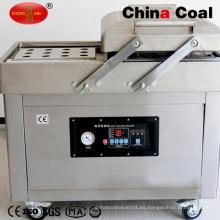 Máquina de envasado de alimentos al vacío de doble cámara Dz500 / 2c