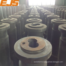 PVC PP PE double screws and barrel