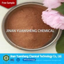Sulfonate de lignine de sodium d'additifs chimiques comme dispersant d'engrais dans agricole