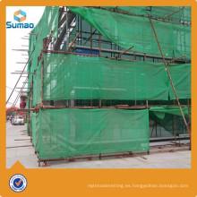 Red de seguridad del monofilamento del color negro de la construcción vendedora caliente hecha en China