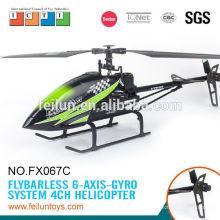 Feilun Spielzeug 2,4 G 4CH großen einzelnen Propeller Rc Modellbau Rc Hubschrauber Preis mit CE, ROHS, FCC, ASTM