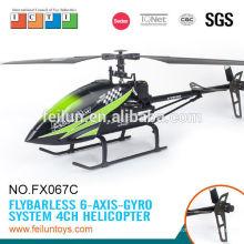 Feilun jouets 2.4 G 4CH hélice à gros modèle r/c hélicoptère rc prix avec CE/ROHS/FCC/ASTM